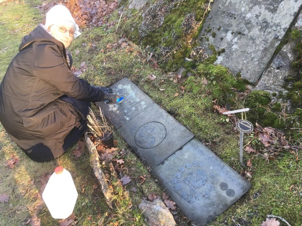 Arne Zetterstöms grave